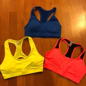 Forever 21 sports bras neon Small